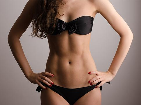 Nuderm tummy tone treatment. Facial Aesthetics Clinic in Clanfield and Waterlooville